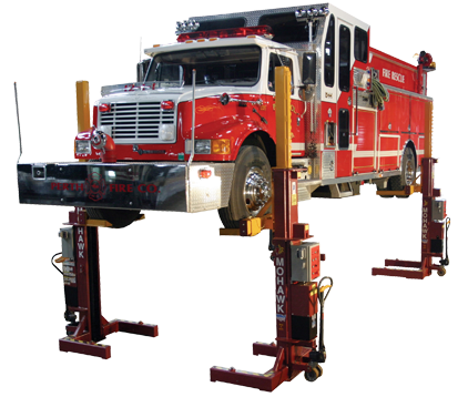 Mobile Column Truck Lifts