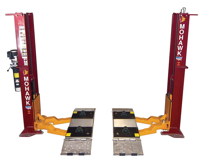 Mohawk Lifts 2 Post Lift Options | Mohawk Lifts