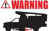 2 POST WARNING LABEL