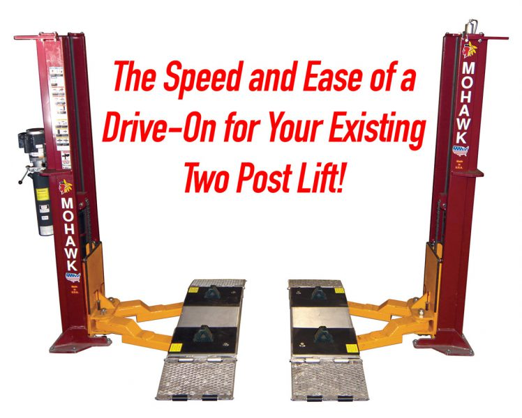 Speedlane Drive On 2 Post Auto Lift Adaptor