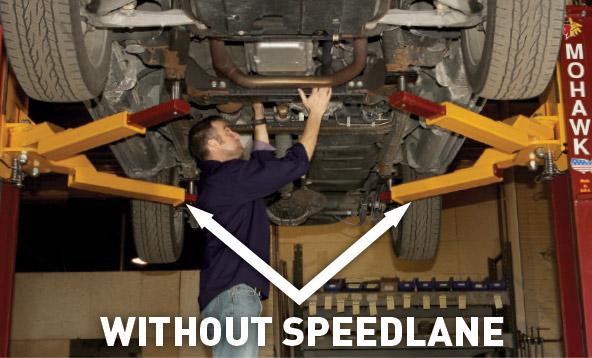 Speedlane Drive On 2 Post Lift Adaptor