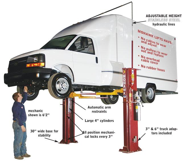 Automotive Lift Safety : Mohawk lifts system i buy post home automotive