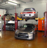 Car Storage & Vehicle Service Lifts