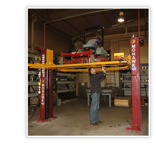 In Ground Car Lift : Mohawk lifts four post scissor in ground