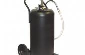 Portable Oil Drain Pan