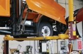 Snow Plow Adaptor for Auto Lifts