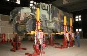 Military Vehicles Larger Rims