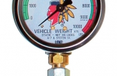 2 POST SAFETY WEIGHT GAUGE