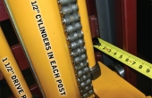 11. Fork Lift Mast Columns