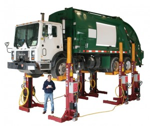 Mobile Column Vehicle Lifts