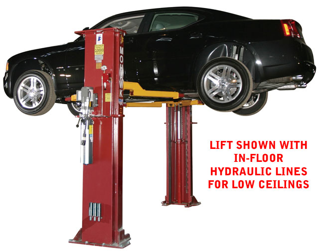 10000 Lb Car Lift >> Mohawk Lifts System I Buy 2 Post Home Automotive Lifts Two Post