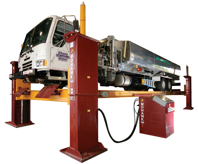 TR-110/120 - 4 Post Heavy Duty Truck Runway Lift