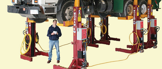 Mobile Column Automotive Lifts