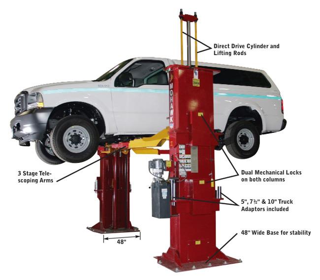 Automotive Lift Safety : Mohawk lifts tp two post car lift and automotive