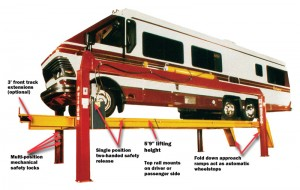 Four Post Vehicle Lift Features
