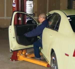 Auto Lift Door Protector