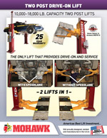 2 Post Drive-On Lifts (PDF)