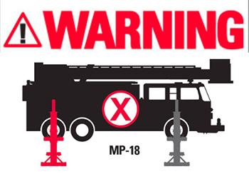 Mobile Warning Decal
