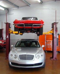 2 Post Auto Storage Lifts