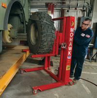 TD-1000AH/2000 High Rise Tire Dolly