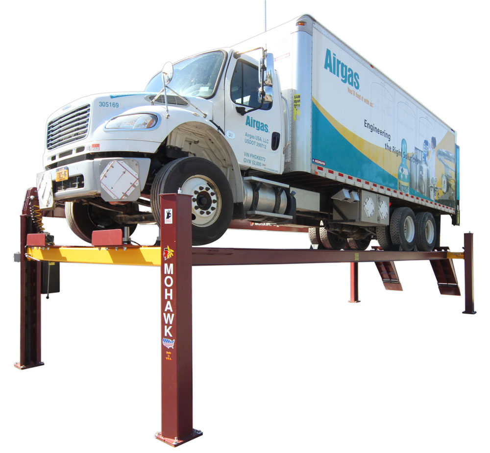 Mohawk lifts TR-19 & TR-25 - purchase 4 post truck lifts