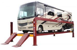 Four Post Truck Maintenance Lift