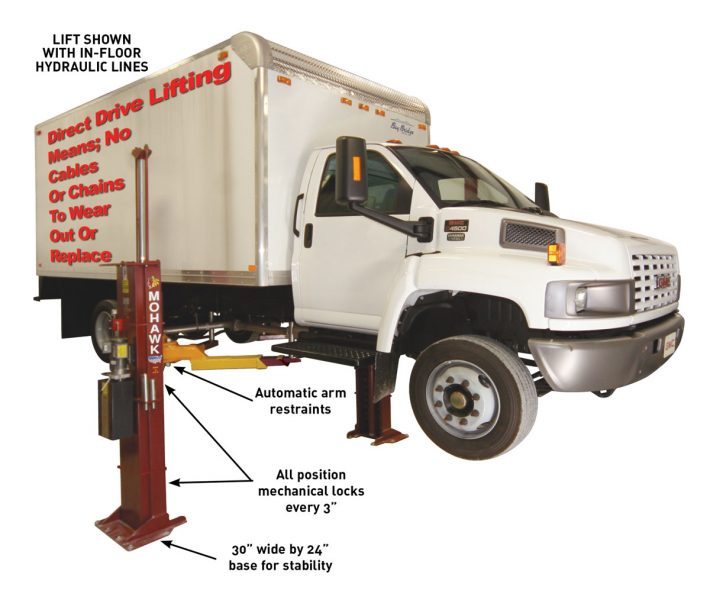 Heavy Duty 2 Post Garage Hoist